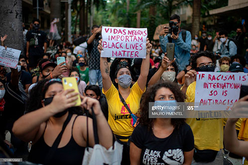 brazilians-protest-for-george-floyd