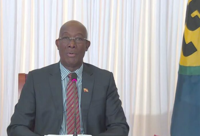 CARICOM-chairman-dr-Keith-rowley